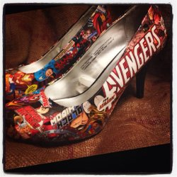 Marvel comic book shoes 3