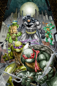 tmnt batman comic crossover 2