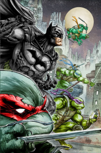 tmnt batman comic crossover