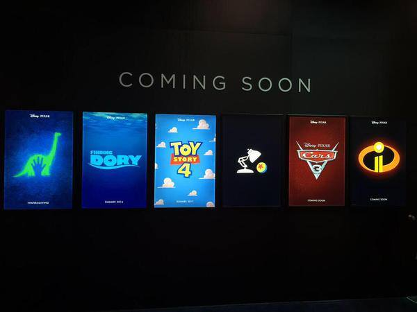Coming Up from Disney Pixar