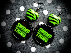 Swamp Thing Earrings