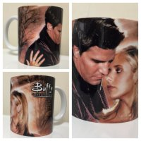 Etsy FAMEDAZED Buffy Angel Mug
