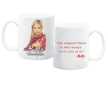 Etsy FAMEDAZED Buffy Mug