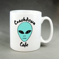 Etsy FAMEDAZED Crashdown Cafe Mug