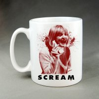 Etsy FAMEDAZED Scream Mug
