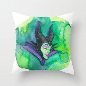 Maleficent Pillow