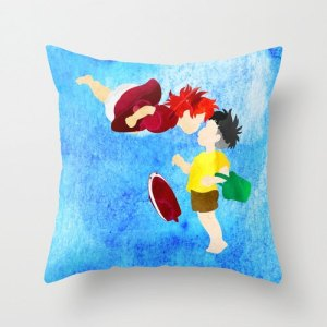 Ponyo Pillow