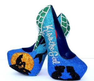 Ariel mermaid shoes