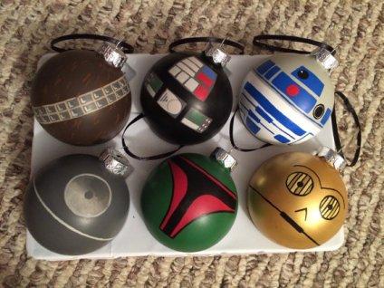 mixed ornaments