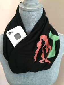 princess infinity scarf