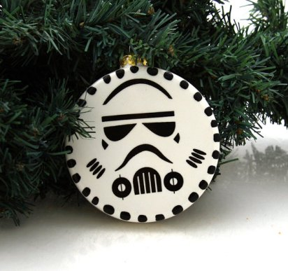 storm trooper ornament