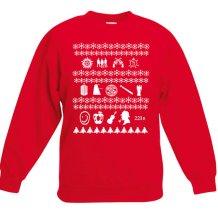 superwholock christmas sweater