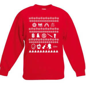 superwholock christmas sweater