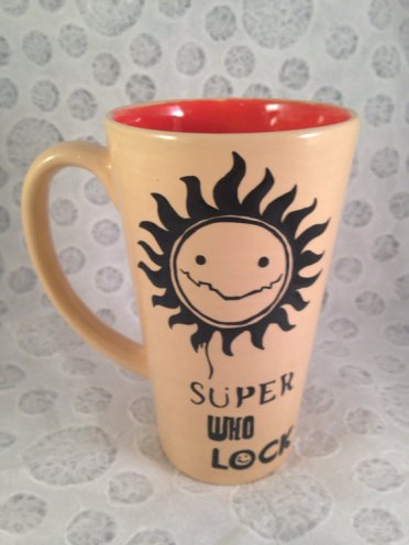 This cool cup comes from HandPaintedNerd