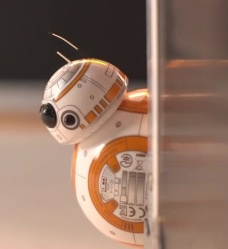 BB-8 around the corner
