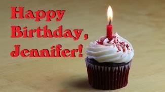 Jennifer Birthday Cupcake
