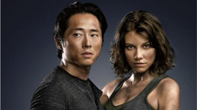 Maggie and Glenn
