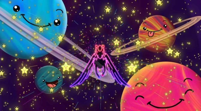 neon pegasus