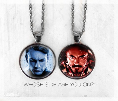 civil war necklaces