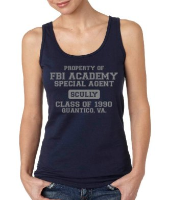 X-Files tank Scully
