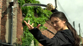 Iron Fist Colleen sword