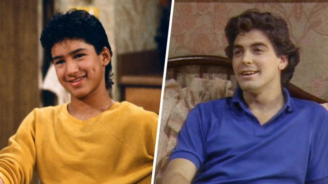Mario Lopez, George Clooney, Golden Girls