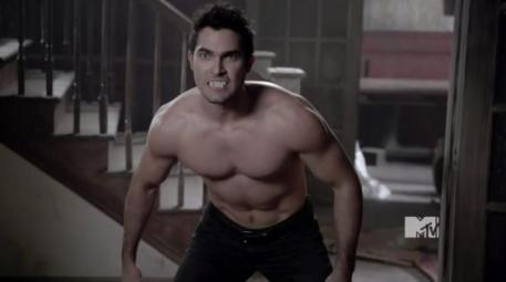 "Tyler Hoechlin as Derek (2011-2017)Hale in ""Teen Wolf"""