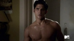 "Tyler Posey as Scott McCall in ""Teen Wolf"" (2011-2017)"