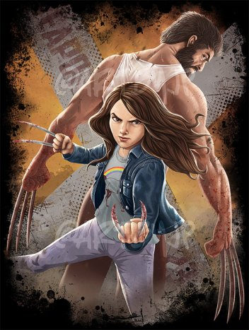 X-23_Wolverine ArtbyJPPerez_on_Etsy