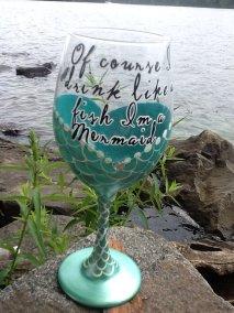 mermaid glass 3