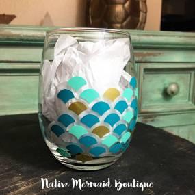 mermaid glass 4