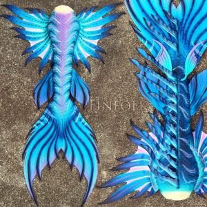mermaid tail finfolk
