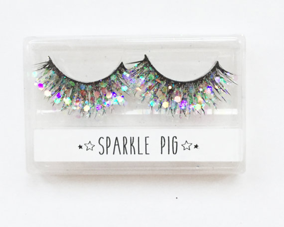 sparkle pig eye lashes