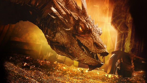 The_Hobbit_The_Desolation_of_Smaug-Smaug-Bilbo_Baggins-dragon-treasure-gold