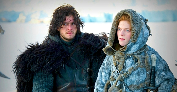 GOT jon and ygritte