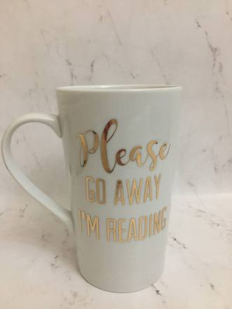 Book Lover Go Away Mug 2