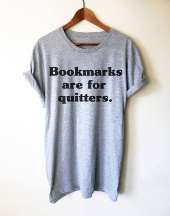 Bookmarks shirt