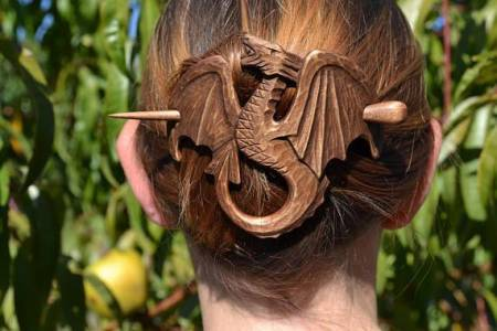 Dragon Hair Pin