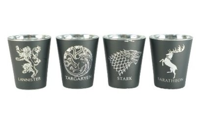 Game of Thrones shot glasses 2