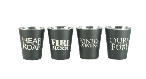 Game of Thrones shot glasses 3