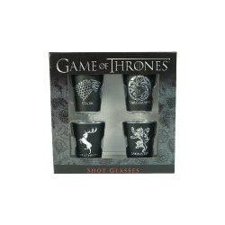 Game of Thrones shot glasses