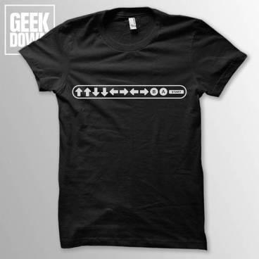 Gamer code shirt