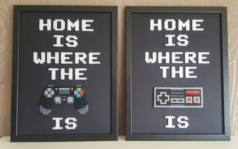 Gamer Home art