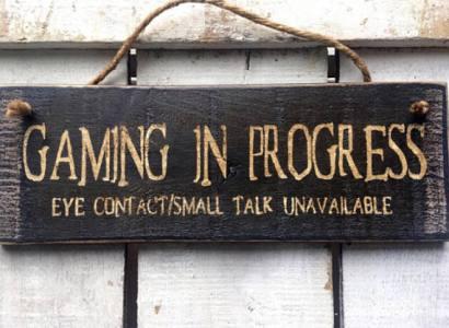 Gaming sign