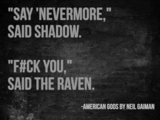 American Gods quote