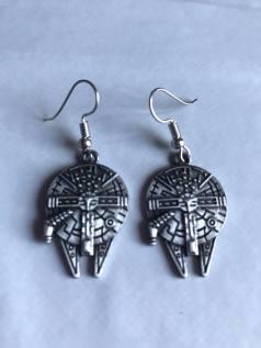 falcon earrings