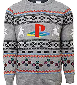 playstation sweater
