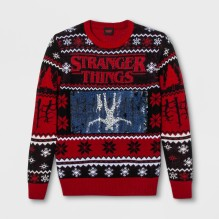 stranger things upside down flip sequin sweater