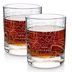 New Orleans Whiskey Glass