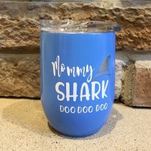 Shark Week Wine Glass 3